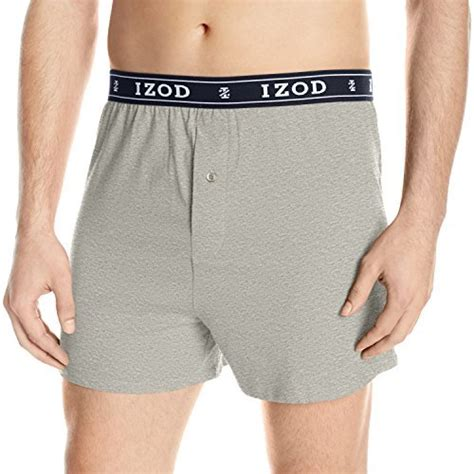 izod knit boxers izod s knit boxer grey shopstyle boxers