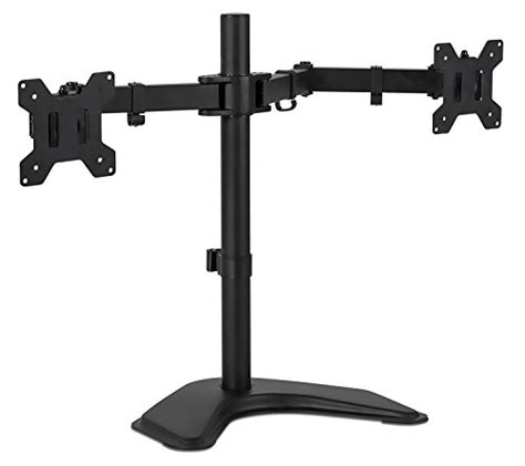 desk depth for 24 monitor mount it mi 2781 dual monitor desk stand lcd mount
