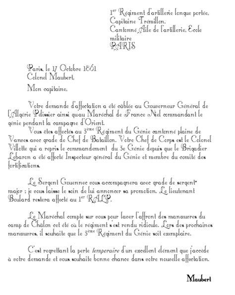 Demande De Mutation Lettre Objectif 1900 Aventures Et Second Empire