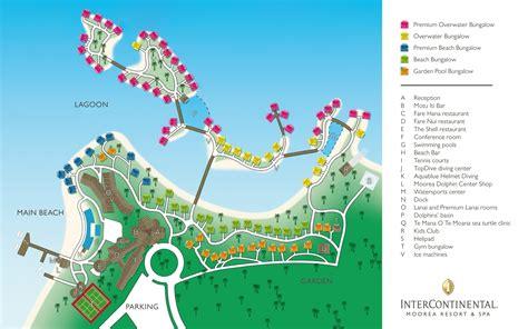 resort map location