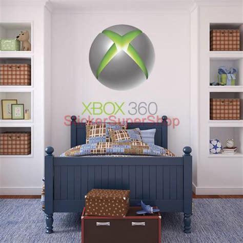 xbox wall decor huge xbox 360 logo center button decal removable wall
