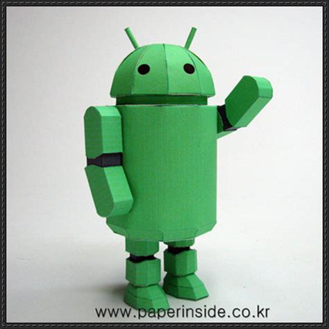 Android Papercraft - papercraftsquare new paper craft android robot free