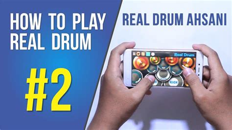 real drum app tutorial how to play real drum 2 drumming tutorial on smartphone
