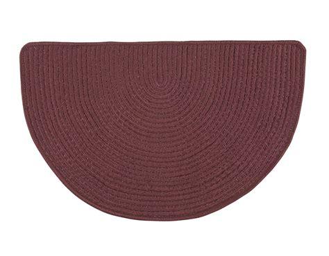 slice rugs solid non slip braided slice rug by oakridgetm ebay