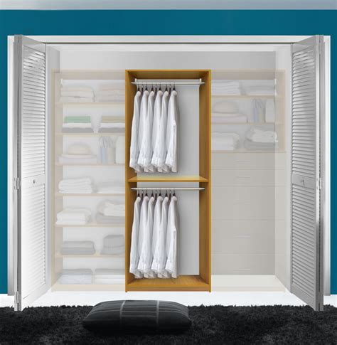 Closet Clothes Hanging Systems Isa Custom Closet Hanging Clothes Closet System
