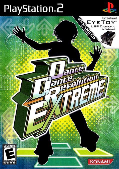 dance dance revolution extreme sur playstation