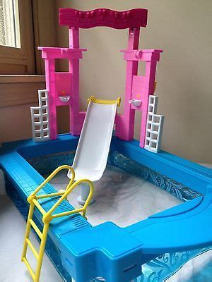 barbie doll house with swimming pool 1000 images about barbie swimming pools on pinterest