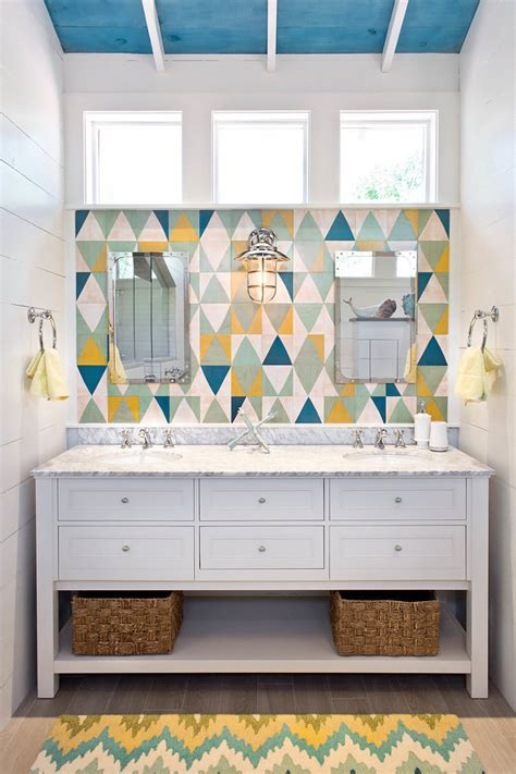 coastal bathrooms ideas coastal cottage attic bathroom remodel home bunch
