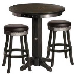 Bar Table And Stool Harley Davidson 174 Bar Shield Flames Pub Table Stool Set W Vintage Black Finish Http Www