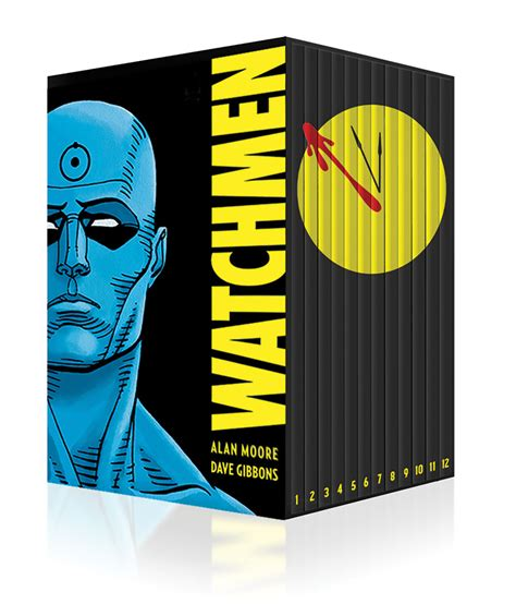 watchmen collectors edition box 1401270344 watchmen collector s edition box set