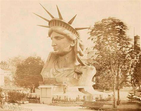 when did gift giving start 老照片揭秘美国自由女神像建造全过程 图片频道 新华网