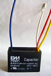 How To Test A Ceiling Fan Capacitor Ceiling Fan Capacitor Cbb61 4uf 4 5uf 5uf 4 Wires Ebay