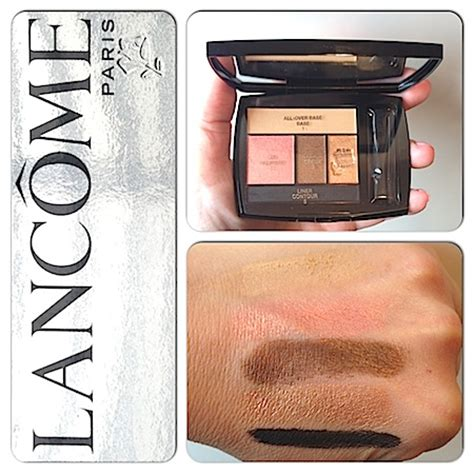 lancome color design eyeshadow swatches makeup review swatches 2013 essie nail
