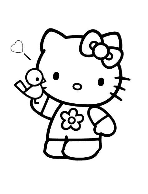 imagenes de kelo kitty dibujos para colorear de hello kitty plantillas para
