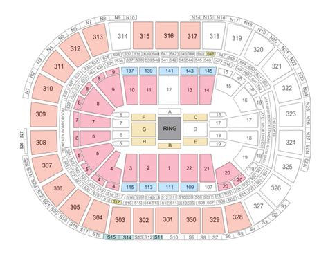 td garden seating chart with seat numbers portland garden arena seating chart winter garden