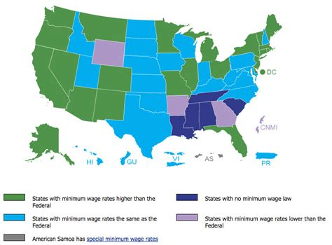 federal minimum wage voters in 5 states are deciding whether to boost their