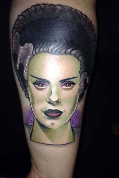 bride of frankenstein tattoo my of frankenstein the of