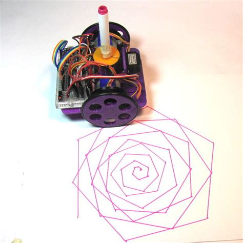 Drawing Robot by Low Cost Arduino Compatible Drawing Robot 15 Steps With