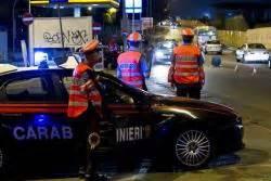 simulazione test carabinieri sfonda posto di blocco e denuncia furto auto 27enne scappa