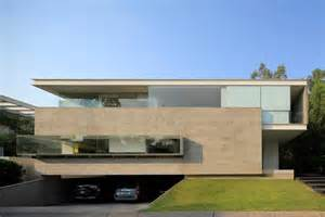 cantilever home geometric home has cantilevered master suite overlooking pool