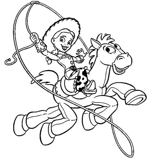 Toy Story Coloring Pages Team Colors Story Coloring Page