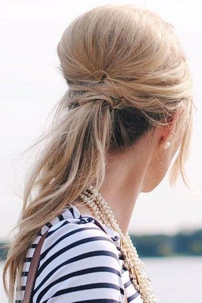 dressy ponytail hairstyles 1067 best updos ponytails images on pinterest hair dos