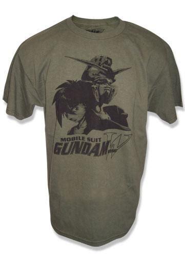 T Shirt Gundam Mobile Suit 21 gundam t shirt heero and wing gundam m archonia