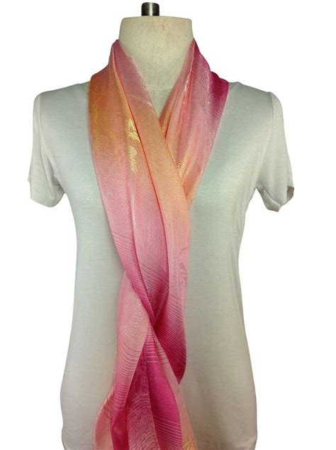 pink scarf silk order direct from thailand