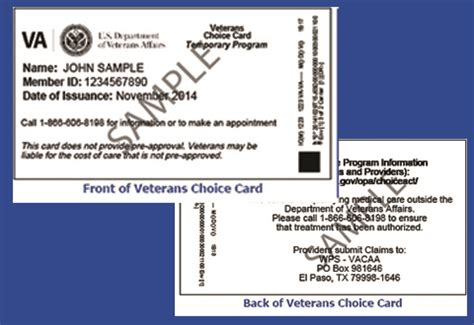 Va Cards - veterans access choice and accountability act for providers