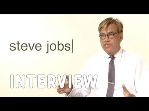 Steve Essay by Aaron Sorkin On Writing Quot Steve Quot Research And Dialogue