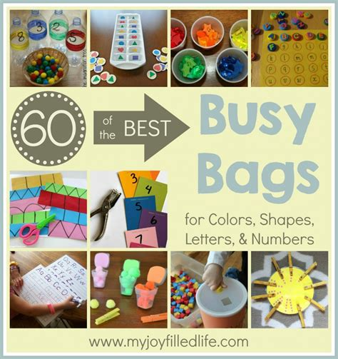 Color Sort Busy Activity For Children 365 Days Of Crafts - 60 of the best busy bags