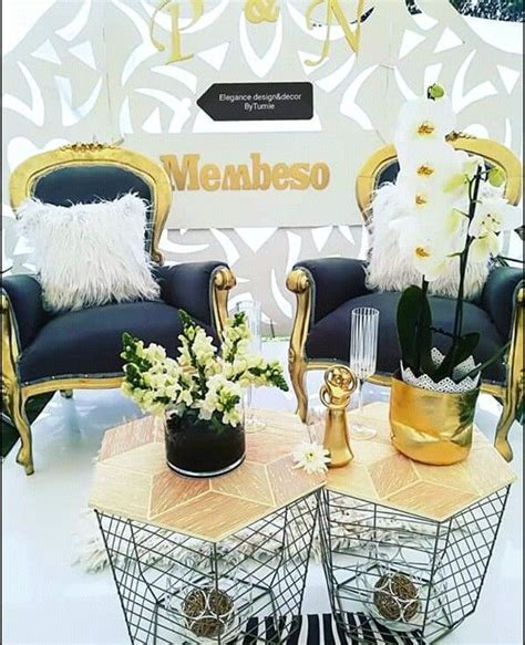 Couple Stage Decor for Umembeso   Lobola ideas in 2019