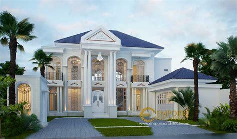 desain rumah klasik  megah  mewah
