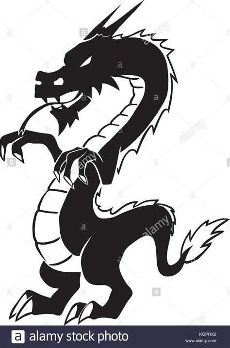 chinese dragon tattoo stock vector stock photos