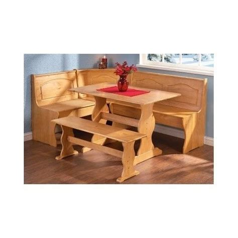 corner bench booth breakfast nook set kitchen dining