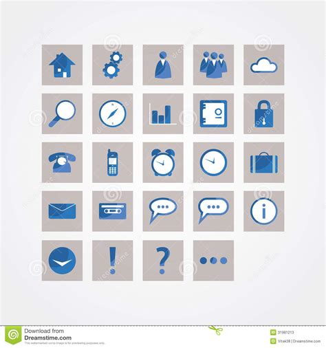 design icon pack basic vector icon pack modern design icons for website or