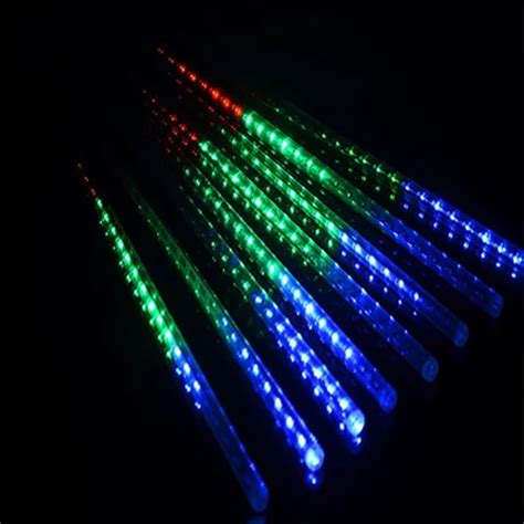 waterproof 110v 240v input 30cm 8 tube 144 led mini