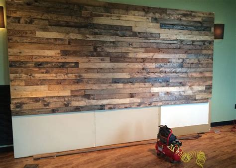 distressed walls tutorial how to distress wood create a faux pallet wall time