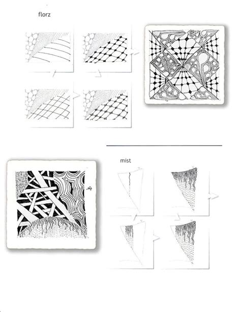 zentangle pattern chard 1606 best images about zentangles black and white on