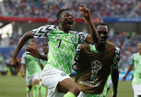 nigeria vs islandia rusia 2018 nigeria le dio vida a