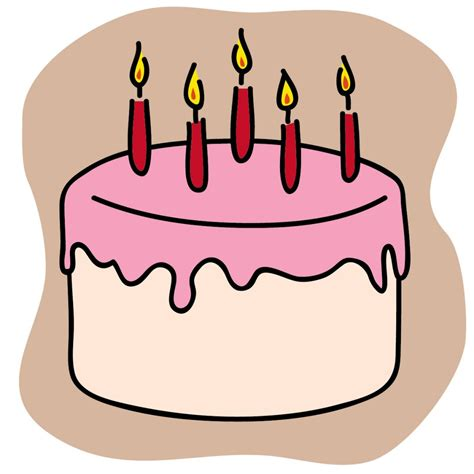 Birthday Cake Graphics Clip by Birthday Cake Clip Beautiful And Birthday Cakes