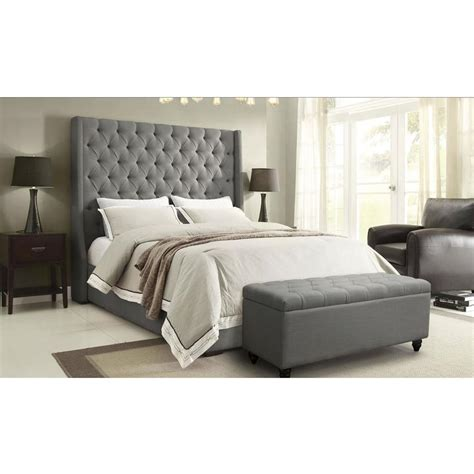 el dorado furniture bedroom sets park avenue gray queen platform bed el dorado furniture