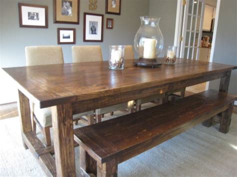 how to make a farmhouse dining table large and beautiful how to build a farmhouse dining table large and
