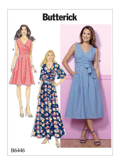 dress pattern review blog pattern review butterick 6446 dress gorgeous fabrics blog