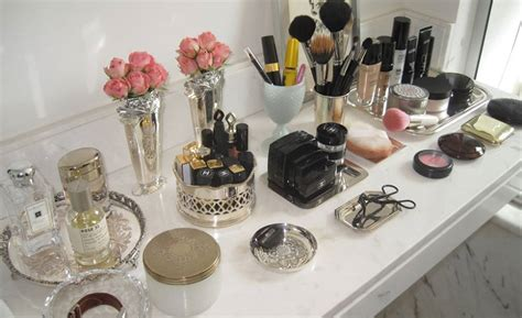 organized vanity how to organize your makeup shrewd and savvy