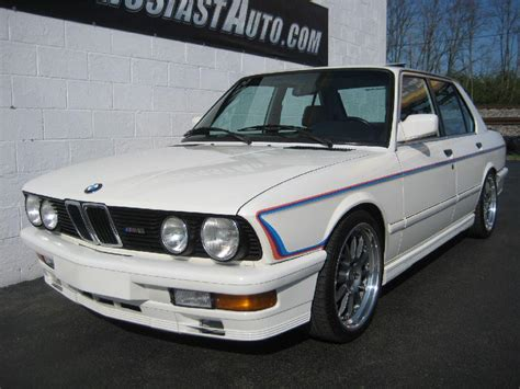 bmw e28 m5 for sale pre owned e28 m5 for sale for sale at enthusiast auto