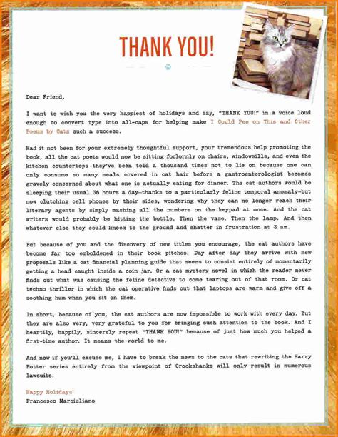 Thank You Letter Of wonderfull after thank you letters letter