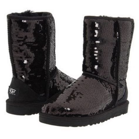 39 ugg shoes black sequin uggs from corine s closet