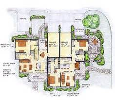 multi family house plans with courtyard duplex floor plans on pinterest floor plans duplex