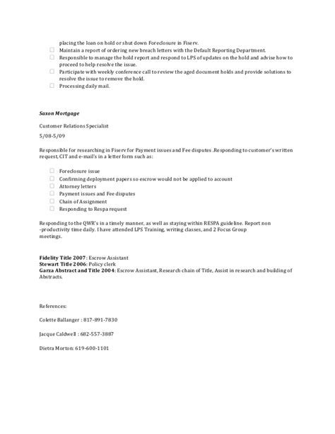 Qwr Acknowledgement Letter Resume